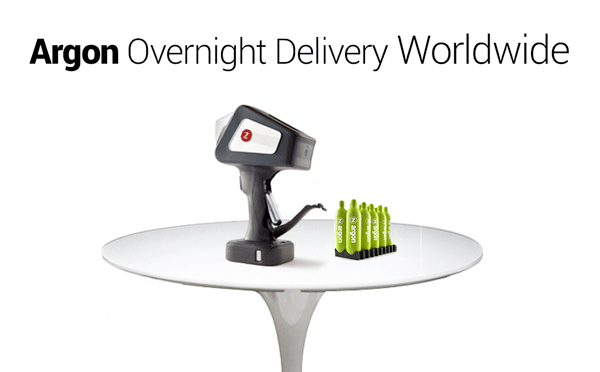 Argon - Overnight Delivery Worldwide