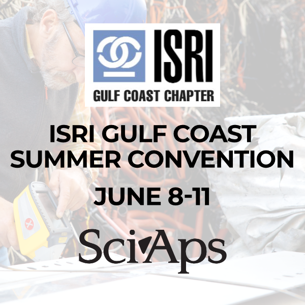 SciAps_ISRI Gulf Coast Summer Convention