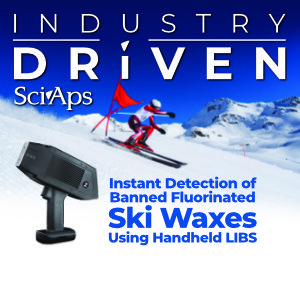 SciAps Handheld LIBS for detecting banned ski waxes