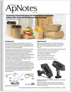 ApNote Screening Food Packaging for Fluorinated Compounds Using Handheld LIBS
