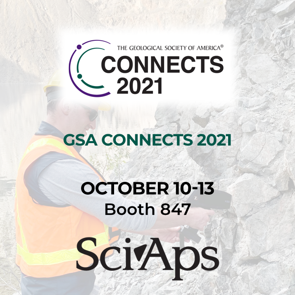 SciAps at GSA Connects 2021